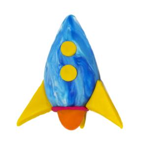 JOVI Plastilina muovailuvaha - avaruusalus