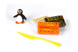 JOVI Plastilina muovailuvaha - pingviini ja tuotteet