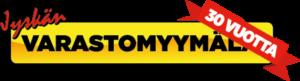 Jyskän varastomyymälä logo